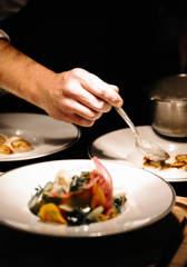 cuisine-gastronomie-plat-dejeuner-diner-restaurant-alpaga-beaumier-megeve